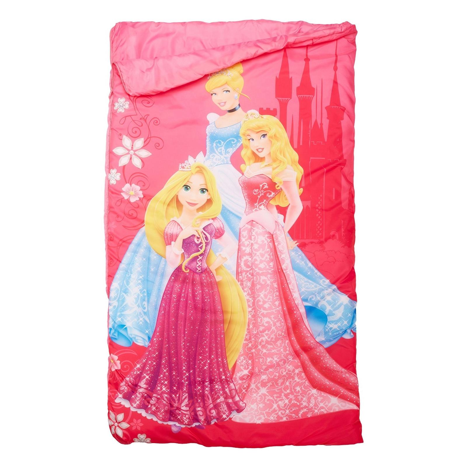 Disney Princess Indoor Slumber Sleeping Bag With Drawstring