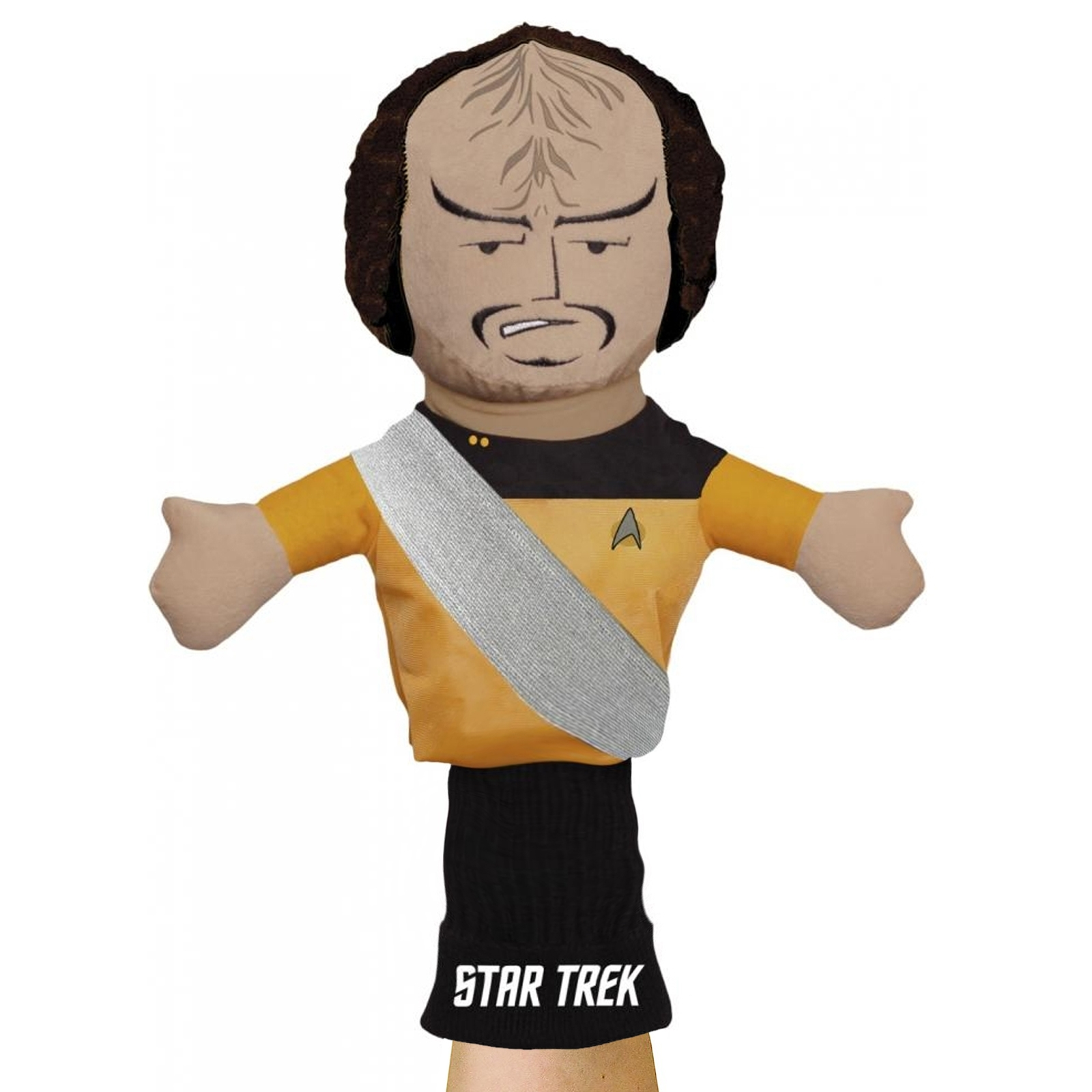 licensed star trek hand puppet figure for kids self expression klingon star trek toys children's puppet klingon voyager enterprise