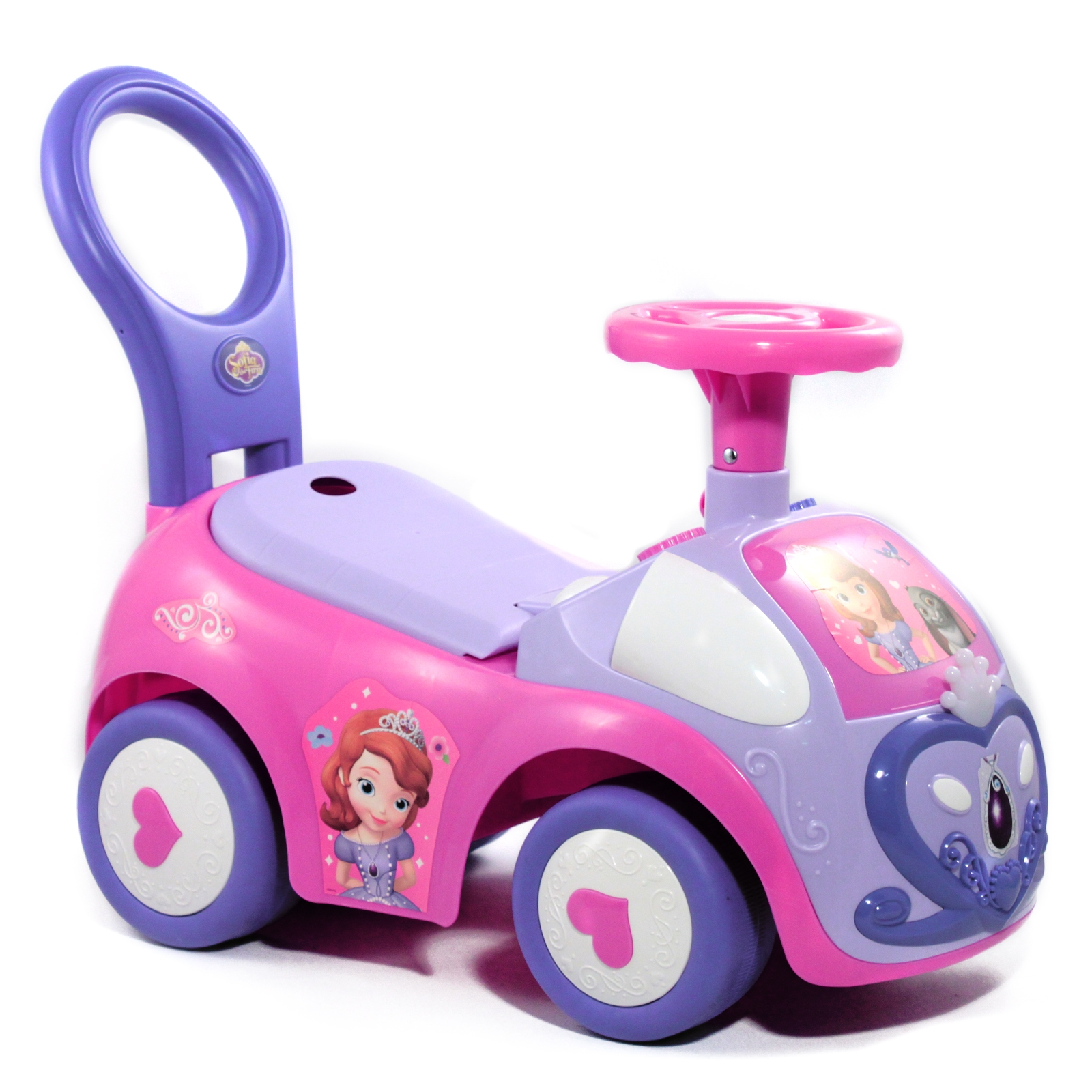 Disney Sofia the First Steerable Light N Sound Vehicle