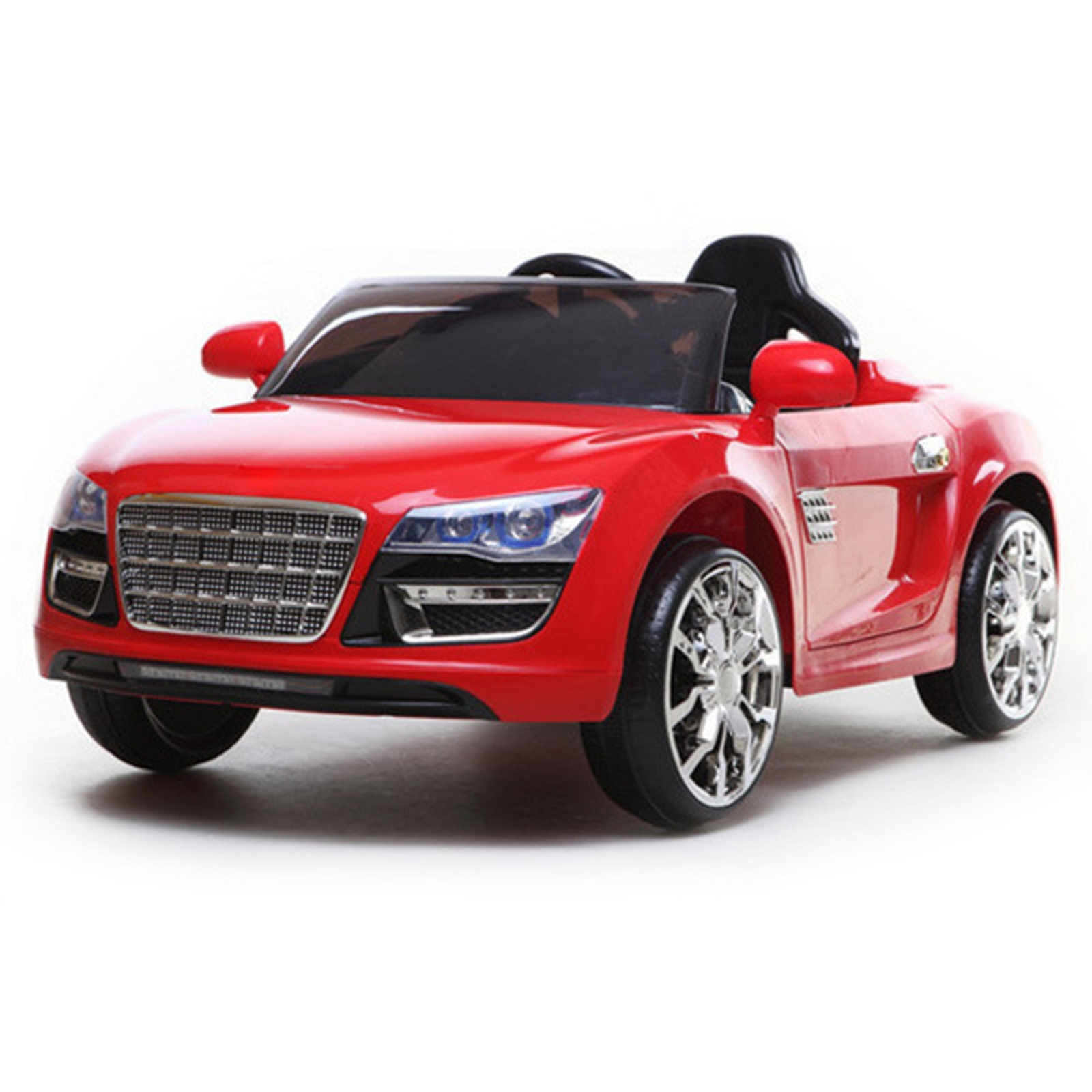 Super Coupe 12V Kids Battery Powered Ride On Car in Red