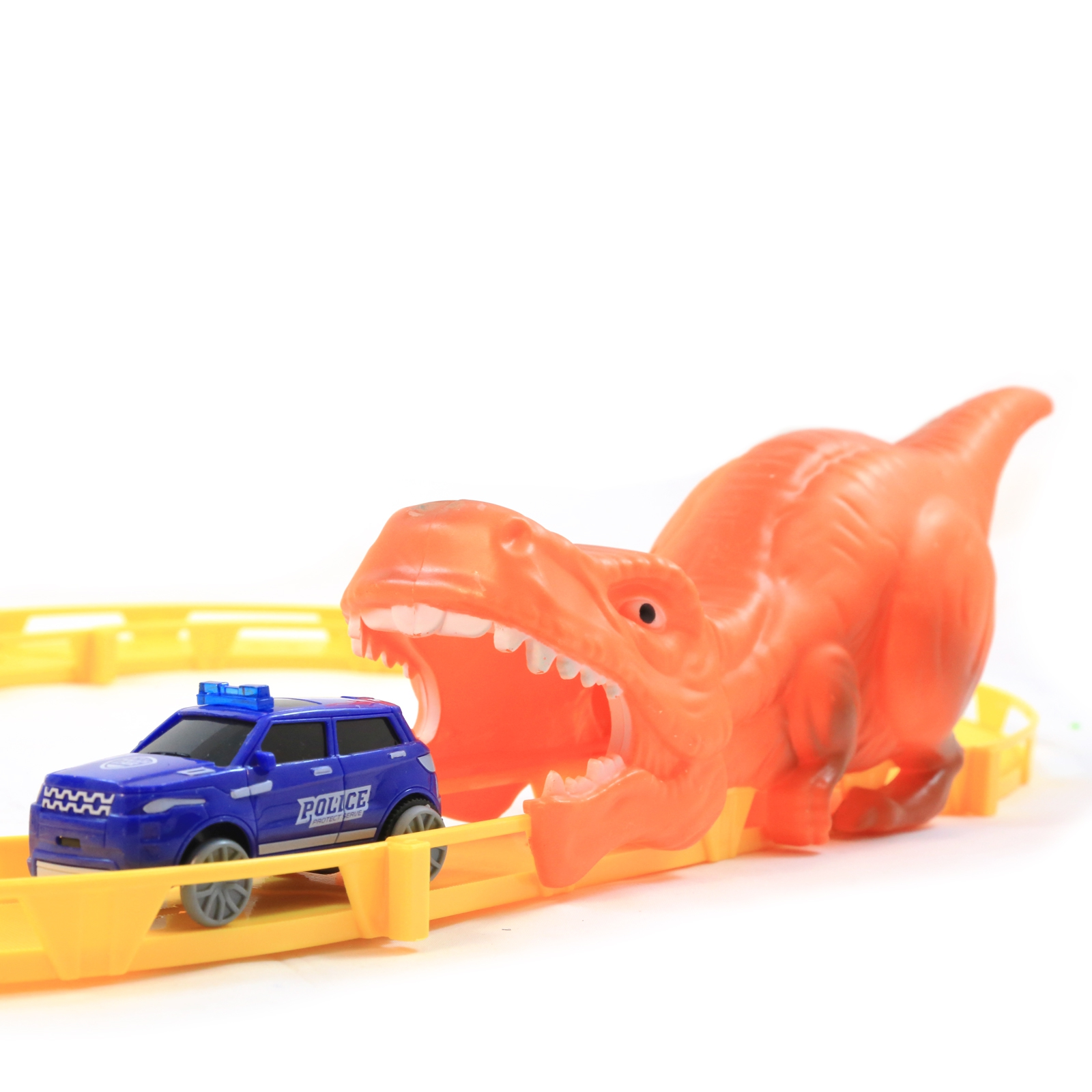 The Great Dino Escape 20pc Kids Diecast Rescue Station Starter Race Track