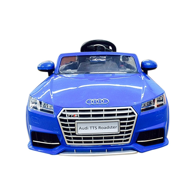 Blue Audi Kids Ride On Audi TTS Roadster