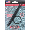 Zak Tool Window Punch Spring Loaded Pull Key Ring - ZT57K