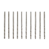 10pc 50 High Speed Steel Drill Bits 1/16 Inch Shank