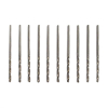 10pc #53 High Speed Steel Drill Bits 1/16 Inch Shank