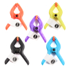 30pk Multi Colored 3 Inch Heavy Duty Jaw Opening Spring Clamps