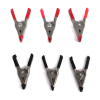 6pc Tempered Steel 2 Inch Small Spring Clamp Set