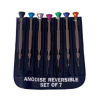 7pc Precision Jeweler Eye Glasses Flat Tip Screw Driver