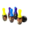 Black Panther Bowling Pin Party Set