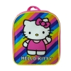 Hello Kitty Mini Striped Rainbow Backpack