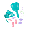 Disney Little Mermaid Ariel 14pc Hair Styling Head Doll Girls Pretend Play Toy