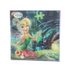 Disney Jigsaw Picture Puzzle Game Kids and Girls Tinkerbell Fairies Night Pond Scene with 63 Pieces for Developmental Focus and Problem Solving Skills