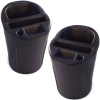 2 Pack Universal Car Cup Holder Cell Phone Organizer