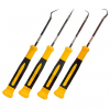 4pc Hook and Pick Deluxe Swivel Handle Precision Tool Set