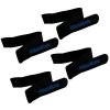 4pk Heininger Automotive Hitchmate Multi-use Reinforced Quick Straps - Black