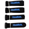4pk Heininger Automotive Reinforced Multi-Use Securing Quick Straps - Black