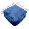 Heininger Roof Top Travel Cargo Bag Dimensions