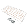Automotive Cargo Stretch Web Elastic Tie Down Net 4 x 6