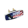 HitchMate Premier Series Hitch Cap Cover - Home of the Brave