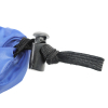 Waterproof Durable Backpack Cover Blue Universal Fit Adjustable Draw String
