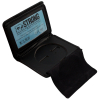 ASR Federal Law Enforcement Leather Hidden Badge and ID RFID Wallet - Round
