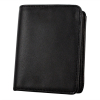 ASR Federal Law Enforcement Leather Hidden Badge Wallet Bill Fold - Round