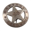 Replica Deadwood Marshal Old West Badge