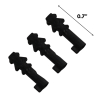 "3pk ASR Outdoor Covert Bare Minimum Handcuff Keys - Black .7"" Length"