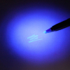 Ultraviolet UV Spy Pen Highlighter Marker Invisible Ink Security Pen - Blue