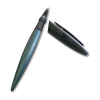 Disappearing and Reappearing Black Ink Covert Spy Mossad Pen - .7mm fine point - Upclose