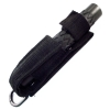 ASR Tactical 16.75 Inch Extendable Baton with Sheath and Belt Loop - Black - Retracted In Case