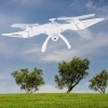Sky Ninja 7 Inch HD Video 2.4 GHz RC Quadcopter Drone White Lifestyle