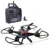 Sky Ninja 7 Inch HD Video 2.4 GHz RC Quadcopter Drone Black Scaled