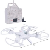 Sky Ninja 7 Inch HD Video 2.4 GHz RC Quadcopter Drone White Scaled