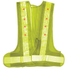 LED Light Safety Vest - On