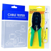 Network Cable Tester & Modular Crimping Tool In Packaging