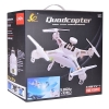 20 Inch 2.4 GHz 6-Axis Gyro 5.8 GHz Video Transmission White Quadcopter RC HD Video Drone Retail