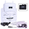 2.4 GHz 6-Axis Gyro 5.8 GHz Video Transmission White Quadcopter RC HD Video Drone Controller