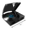 Vibe Sound USB Turntable Transfer Vinyl to MP3 with Scale