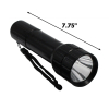 ASR Outdoor Cree Bulb Flashlight 5 Watt 250 Lumens Nylon Wrist Wrap - Black