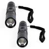 2 Pack Micro LED Tactical Flashlight 120 - 150 Lumen 1 Watt Up Close
