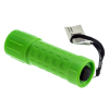 ASR Outdoor Mini Plastic Key Chain Sized Emergency Flashlight with Lanyard-Green