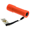 ASR Outdoor Mini Plastic Key Chain Sized Emergency Flashlight w/ Lanyard Orange