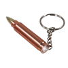 ASR Outdoor 1 LED Bullet Shape Flashlight Key Chain 9mm Caliber Aluminum Body