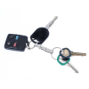 ASR Outdoor Brass Body Nickel Plated Pull Apart Key Ring Travel Accessory