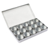15pc 1.5 Inch Aluminum Storage Container Heavy Duty Hobby Craft Organizer