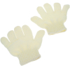 Universal Home Soothing Exfoliating Bath Mitt Shower Accessory - Beige