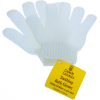 Universal Home Soothing Exfoliating Bath Mitt Shower Accessory - White