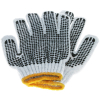 Universal - Dot Grip Non-Slip Gardening Work Gloves - Black