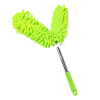 Universal Dual Head Flex Neck Telescopic Feather Duster Extendable 46.5in Green